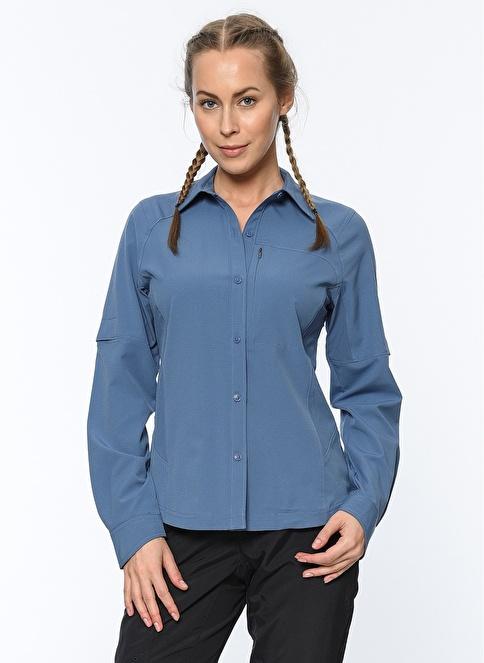 Columbia Uzun Kollu Gömlek Mavi